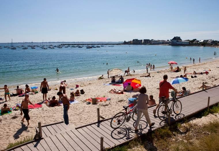 Plage-de-Kerpape-Ploemeur-Lorient-Bretagne-Sud © Galivel